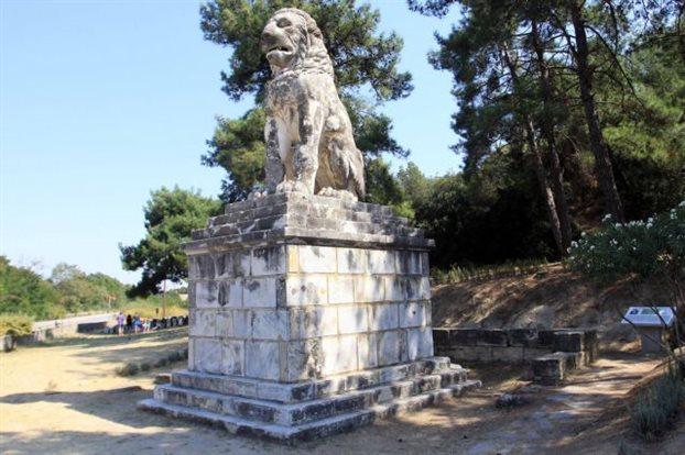 Lion of Amfipoli - Timvos Kasta- Stavros - Villa Riviera - www.villariviera.gr