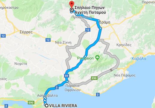 From Villa Riviera to Aggiti's Cave