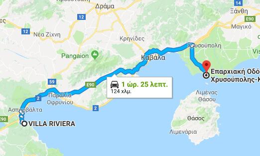 From Villa Riviera To Keramoti