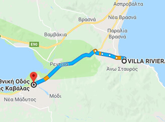 From Villa Riviera to Lake Volvi